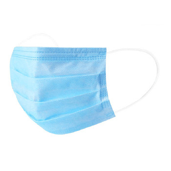 blue mask disposable face mask breathable