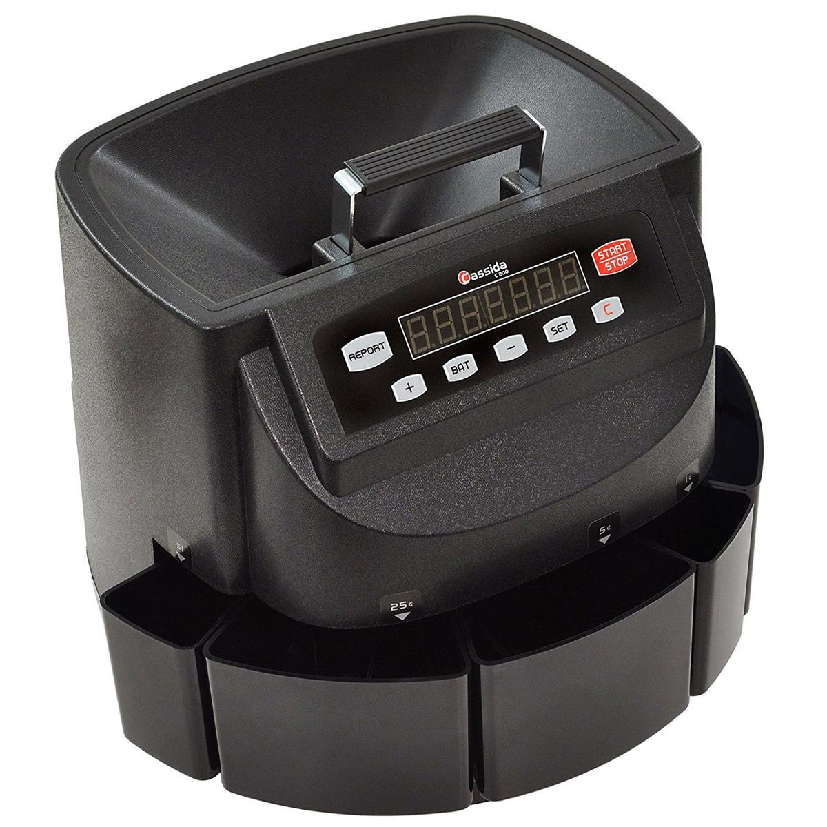 coin change counter sorter wrap counter count